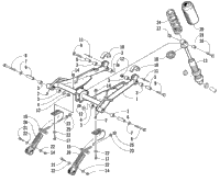 REAR SUSPENSION FRONT ARM ASSEMBLY