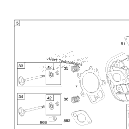 [DIAGRAM_5FD]  Briggs & Stratton 204412-0142-E1 Cylinder Head, Gasket Set - Engine, Gasket  Set - Valve, Valves | Shank's Lawn Cub Cadet | 204412 Engine Diagram |  | Shank's Lawn Cub Cadet