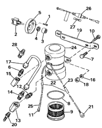 ELECTRIC PRIMER PUMP ASSY.