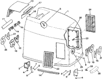 ENGINE COVER - JOHNSON 3.6 MODELS