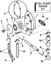 FUEL PUMP - EARLY PRODUCTION
