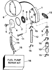FUEL PUMP - LATE PRODUCTION