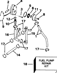 FUEL PUMP - 88 MODELS