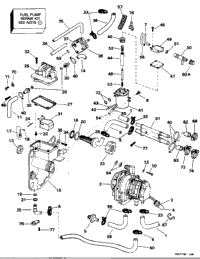 FUEL BRACKET & COMPONENTS