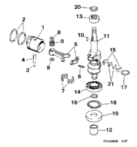 CRANKSHAFT & PISTON