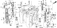 EXHAUST MANIFOLD / THERMOSTAT