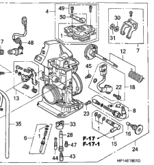 2006 Honda TRX450ER TRX 450ER Carb // Carburetor Repair Kit