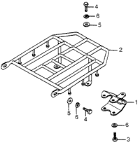 TRAILER HITCH / LUGGAGE CARRIER