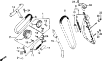 CAM CHAIN / TENSIONER
