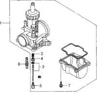 CARBURETOR O.P. PARTS KIT