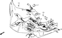 FAIRING WIRE HARNESS
