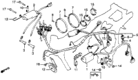 WIRE HARNESS / IGNITION COIL / C.D.I. UNIT