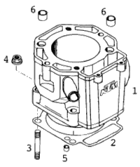 Cylinder 400-640 Lc4-E '98