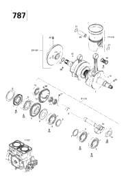 Crankshaft And Pistons (787)