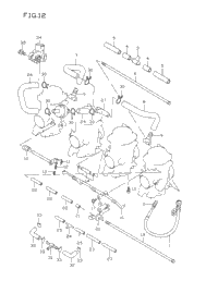 CARBURETOR FITTINGS (MODEL T/V)