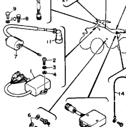 1987 Yamaha WARRIOR (YFM350XT) Electrical 1 | CyclePartsNation Yamaha Parts  Nation | Wiring Schematic For 87 Yamaha Warrior |  | Yamaha Parts Nation