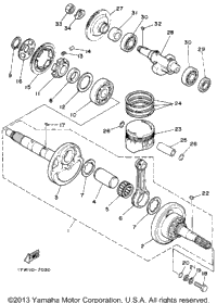 Crankshaft-Piston