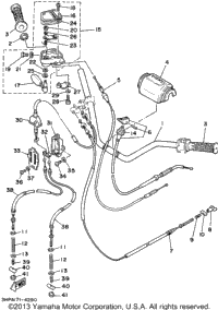 Steering Handle- Cable