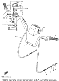 Steering Handle - Cable