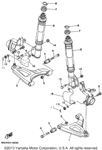 Front Suspension - Wheel