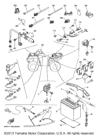 grizzly 600 engine diagram yamaha grizzly 600 wiring diagram pdf 1998 yamaha grizzly (yfm600fwak) oem parts, babbitts online #7