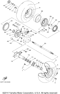 1999 yamaha grizzly (yfm600fwal) oem parts, babbitts ... grizzly 600 engine diagram