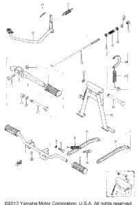 Stand And Brake Pedal