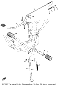 Stand - Brake Pedal