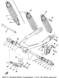 Swing Arm-Rear Shocks
