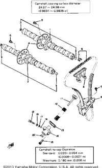 Camshaft-Chain Tension