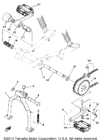 Stand-Crank Pedal