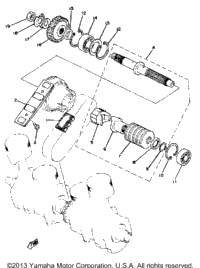 Primary Shaft - Chain