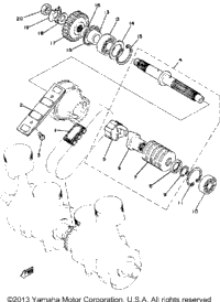 Primary Shaft Chain