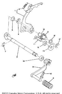 Shift Shaft-Pedal