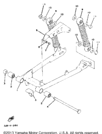 Rear Arm - Suspension Dt80h - J - K