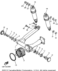 Swing Arm Rear Shocks