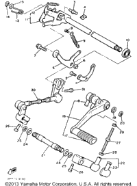 Shift Shaft Pedal