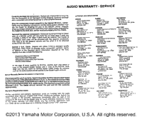Warranty Information Pg 2
