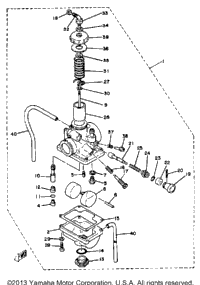 Carburetor-Yz60h - J - K