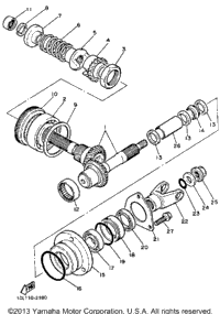 Middle Drive Gear