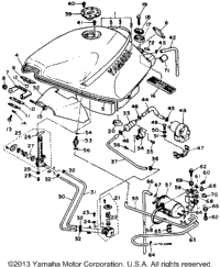 Fuel Tank (California Model Only)