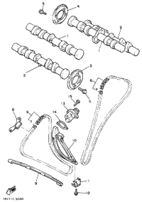 Camshaft - Chain (Non-California Model)