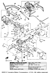Carburetor Noncalifornia Model