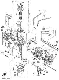 Carburetor (Non-California Model)