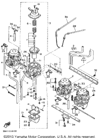 Carburetor Non California Model