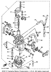 Carburetor (Non - California Model)