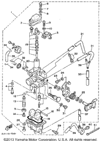 Carburetor (California Model Only)