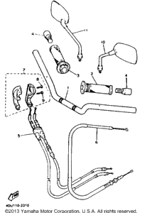 Handlebar Cable