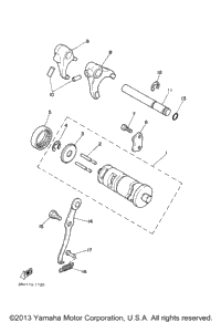 Shift Cam Fork