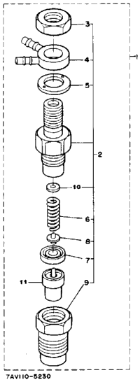 Nozzle Holder Section Parts